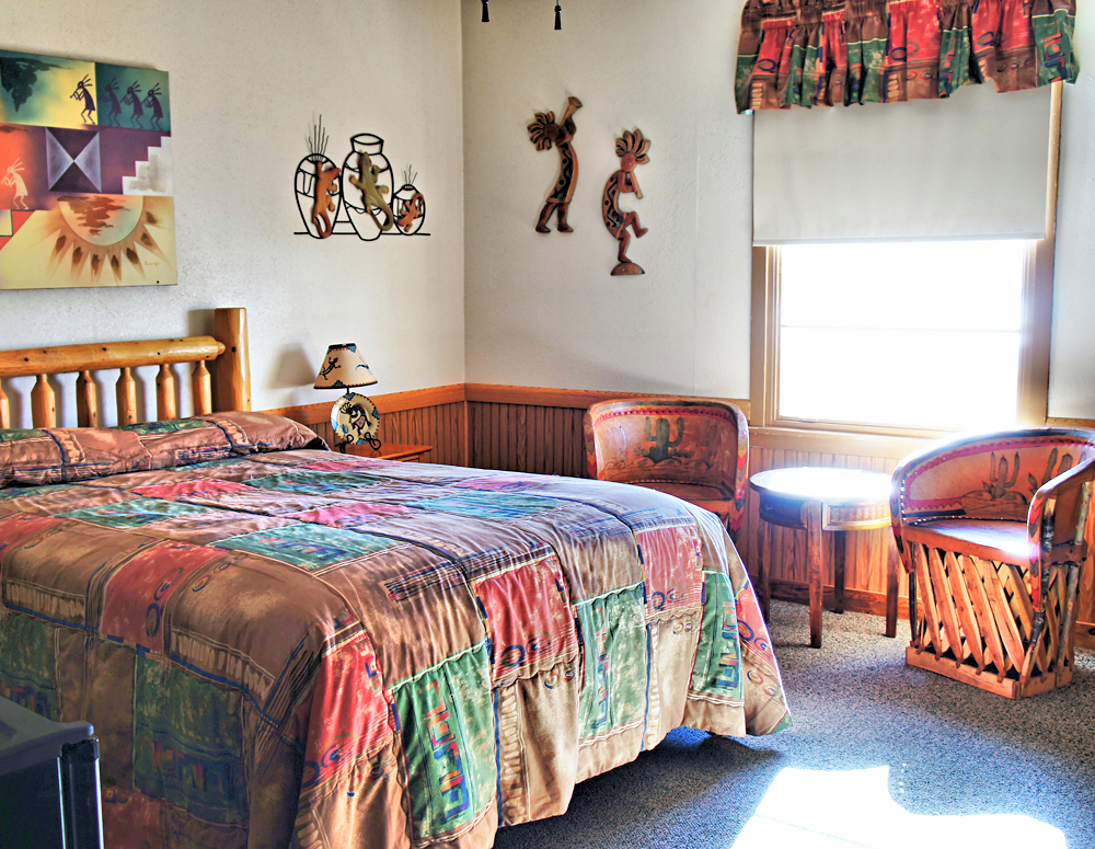 The Kokopelli Suite from The Overland Hotel